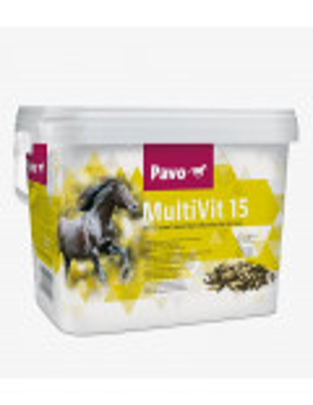 Suplementos para caballos Pavo. Multivit 15 3 KG